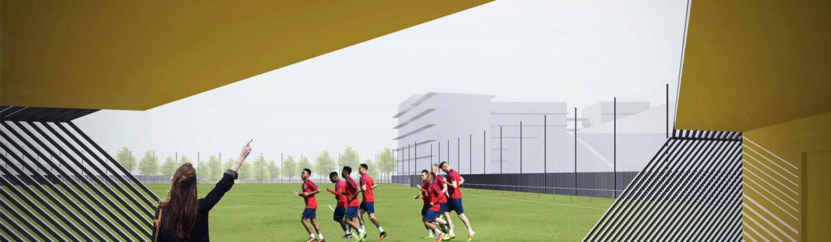 Dès 2022, un terrain de football synthétique pour le quartier !